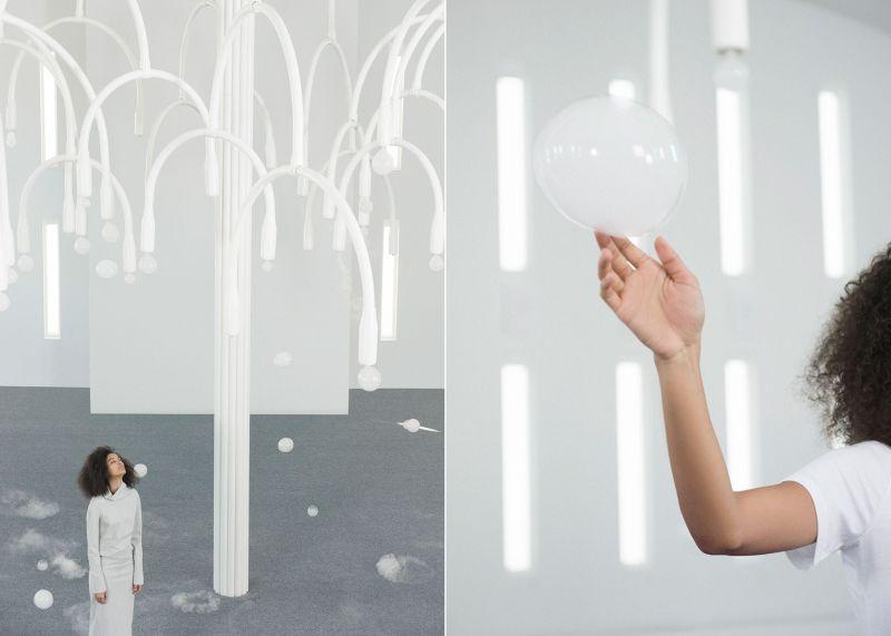 Studio Swine's interactive, multisensory installation at Design Miami