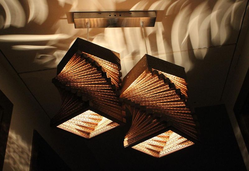 old amazingly made cardboard plain lamps clever lamp from