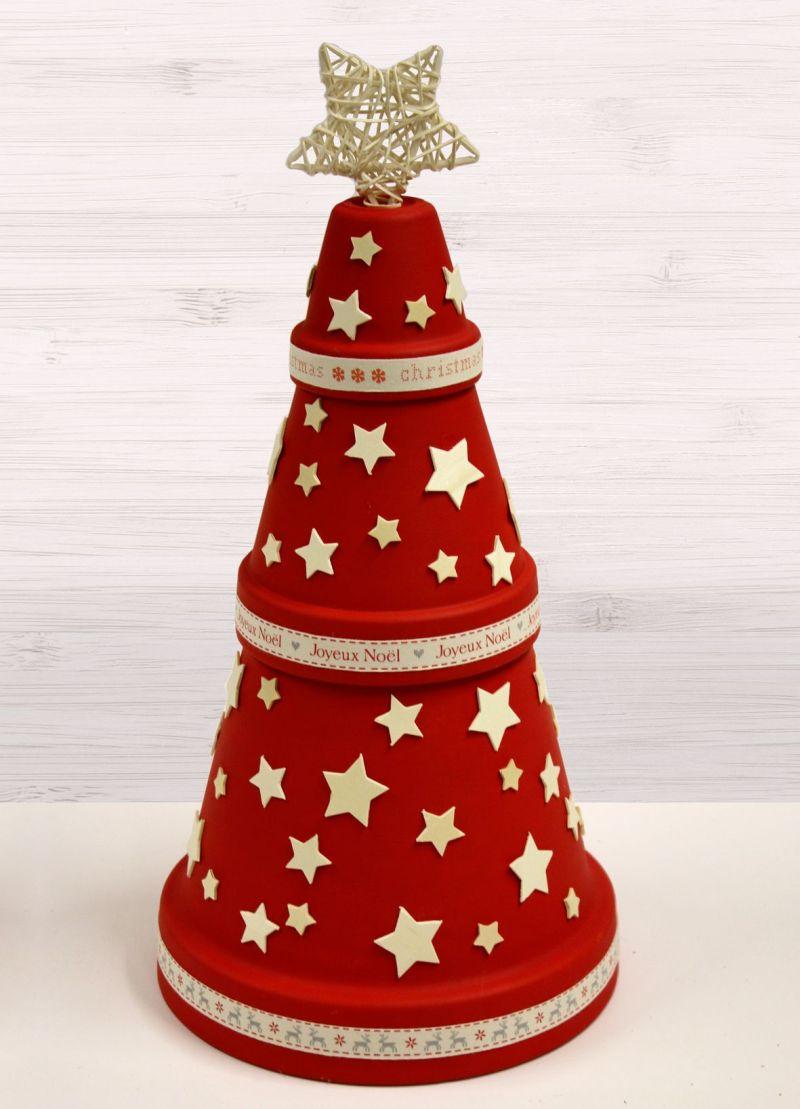 Terracotta Pot Christmas Tree