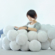The Daydreamer sofa is made of stuffed balls
