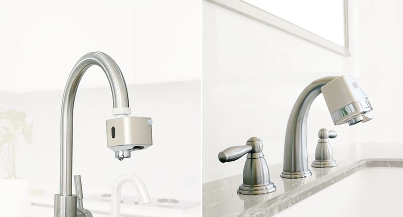 Techo Autowater Turns Any Regular Tap into Touchless Faucet