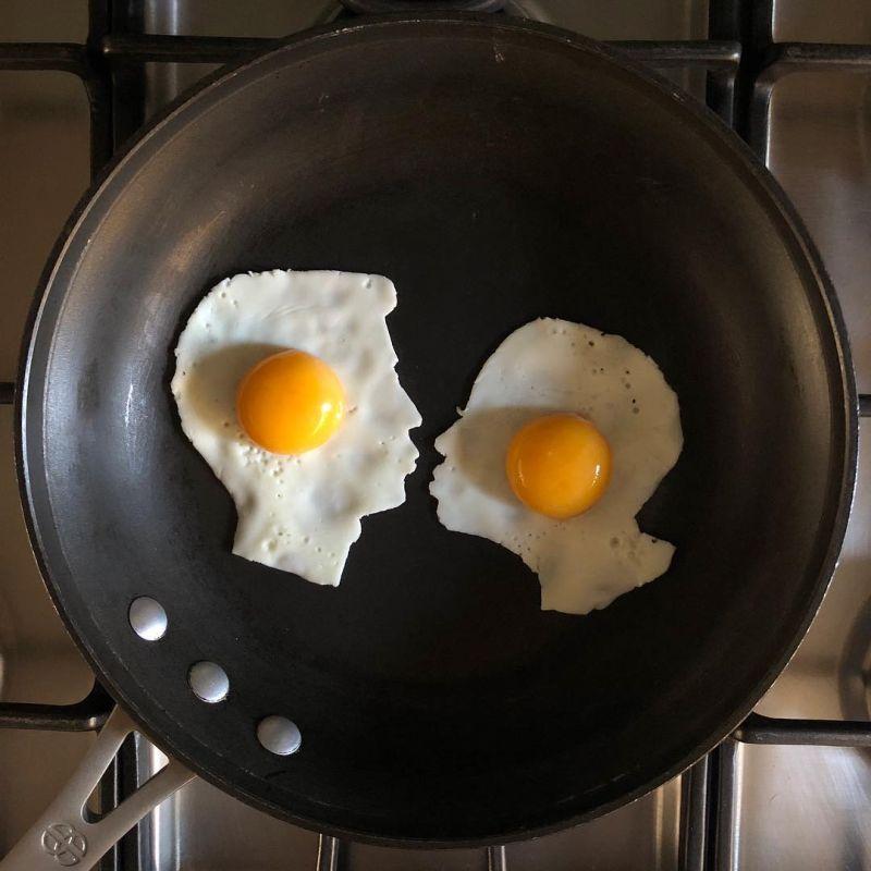 fried egg arts