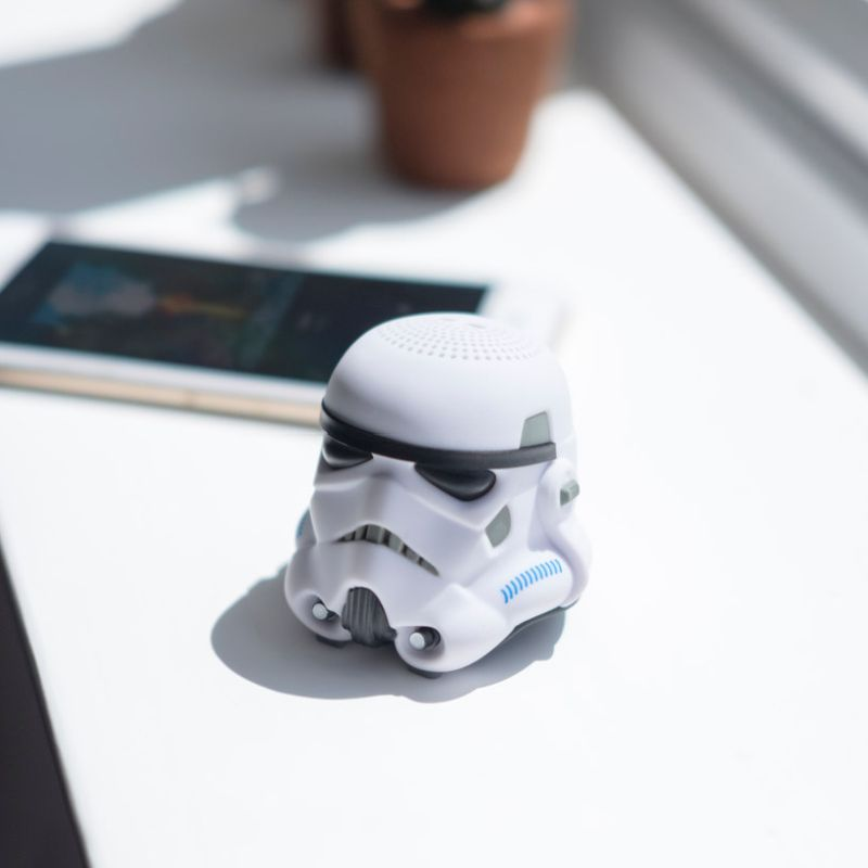mini stormtrooper Bluetooth speaker