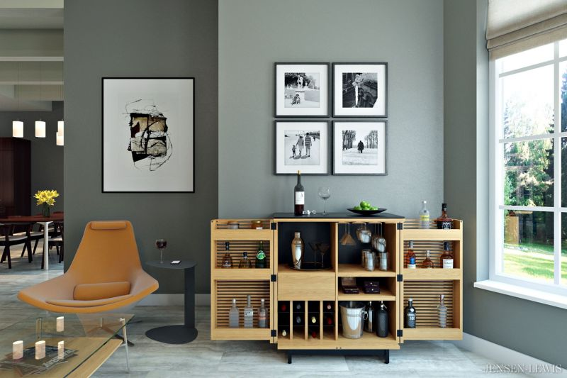 9 Splendid Home Bars To Exhibit Romance Of Wines And Spirits