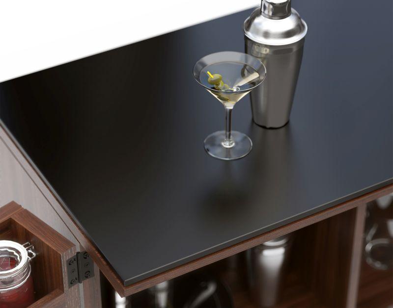 Corridor Home Bar Designed by BDI Furniture