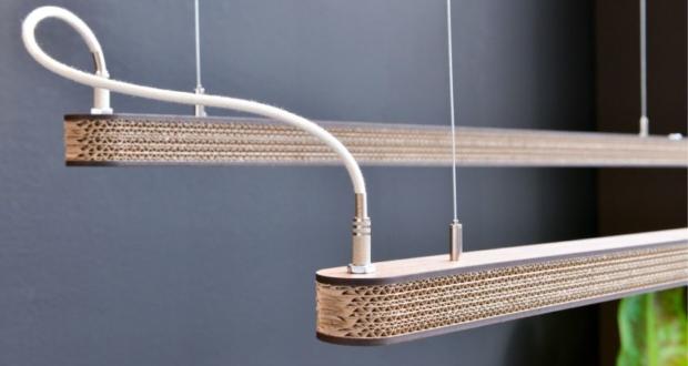 Cartoni 900: Give your interior an Eco-friendly cardboard lamp design