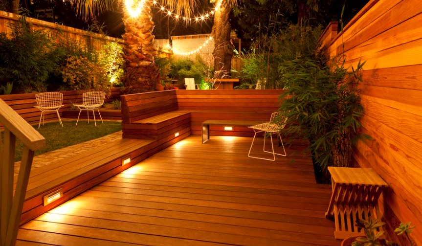 Practical deck lighting ideas to turn your backyard into an outdoor practical deck lighting ideas to turn your backyard into an outdoor oasis aloadofball Image collections