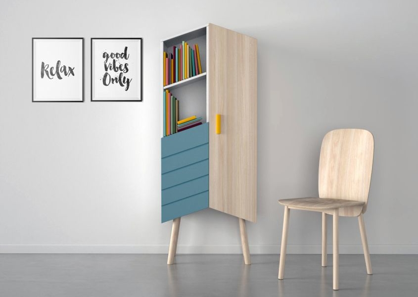 Tilbo Storage Unit By MoakStudio U2013 A Chic Cabinet For Your Modern Interiors