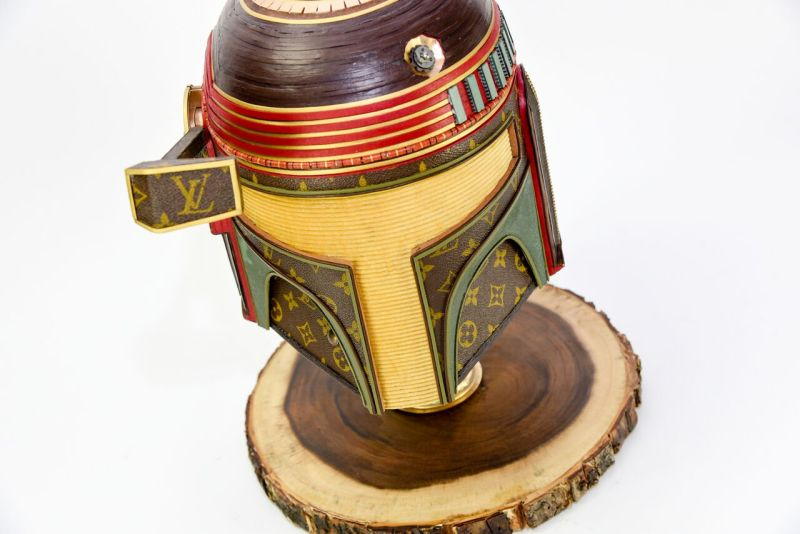 Gabriel Dishaw crafts unique Star Wars sculptures from Louis Vuitton bags