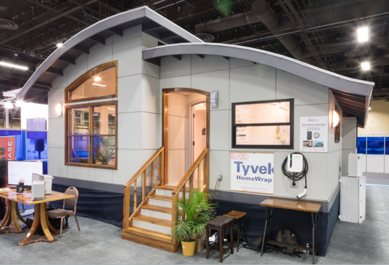 Green Builder Media's Smart Tiny Prefab Home Defies Power Outage