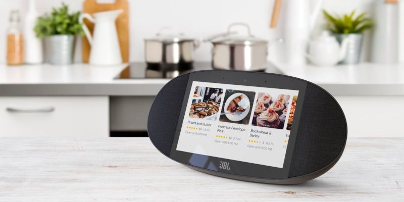 JBL Link View Speaker with Google-Powered 8-inch Display - Smart home assistant