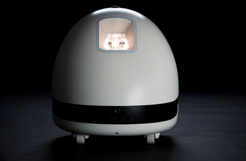 Keecker Voice-Controlled Multimedia Home Robot at CES 2018