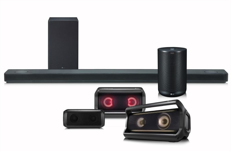 LG to unveil SK10Y soundbar and ThinQ smart speaker at CES 2018