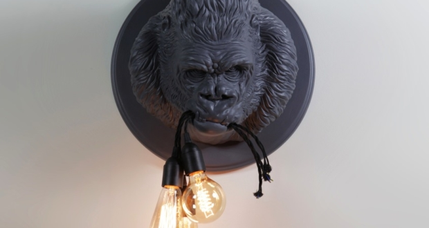 Matteo Ugolini's Ugo Rilla wall Lamp is Inspired by the Wild