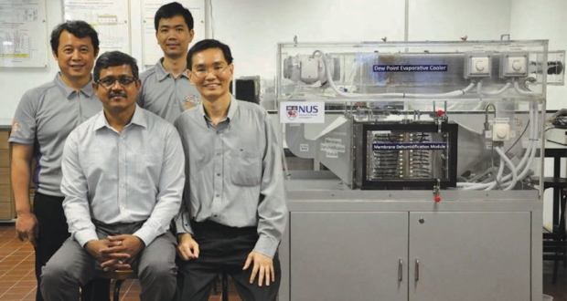 NUS Researchers' eco-friendly Water-Based air Conditioner Saves up to 40% in Energy Bills