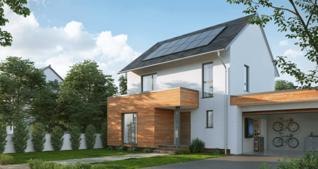 Nissan unveils residential solar energy system complete with storage