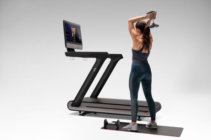 Peloton debuts a pricey internet-connected treadmill at CES 2018