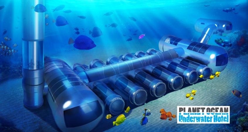 Underwater Hotel Rooms That Go Deep Below The Sea Surface