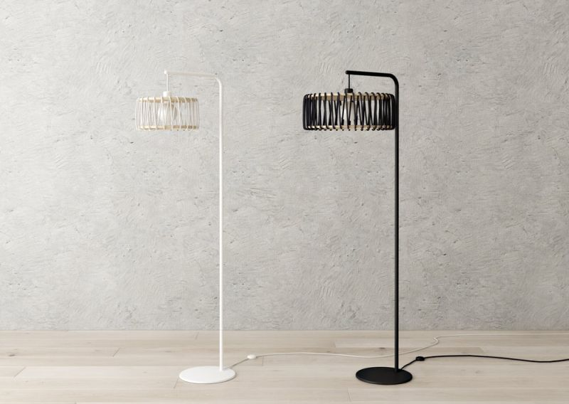 Sweet Meringue Inspired Floor Lamp is an Addition to the Macaron Family