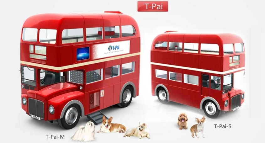 T-Pai Two-story smart doghouse