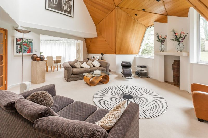 Here's a sneak-peak inside David Richmond's £1million Geodesic Dome Home