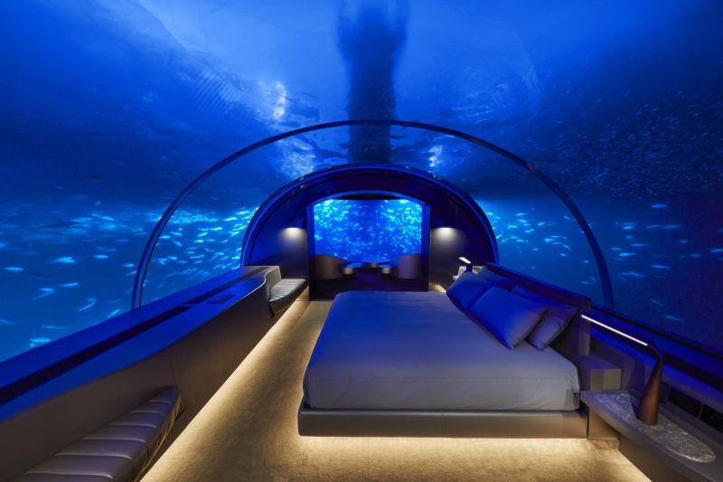 The MURAKA, Underwater Hotel Suite, Maldives