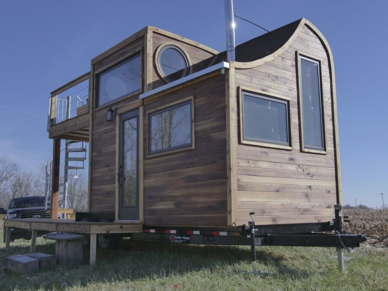 This Honey on The Rock Tiny Home is Built around the Family's Whisky Still!