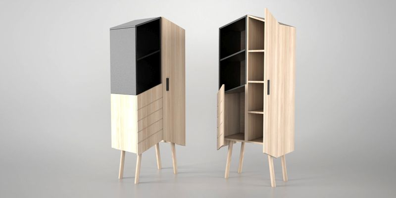 Tilbo – This Storage Unit by MoakStudio is Unlike Your Common Cabinet!