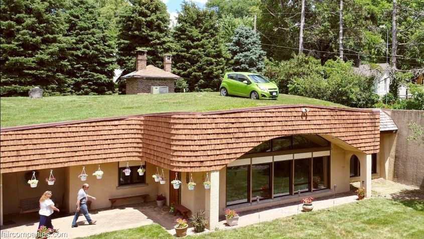 Omaha Underground Home Maintains Consistent Temperature all Year Round