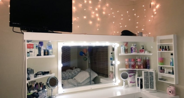 Ladies! Her Dad Built Her a Vanity Van and We Can't Get Over It!