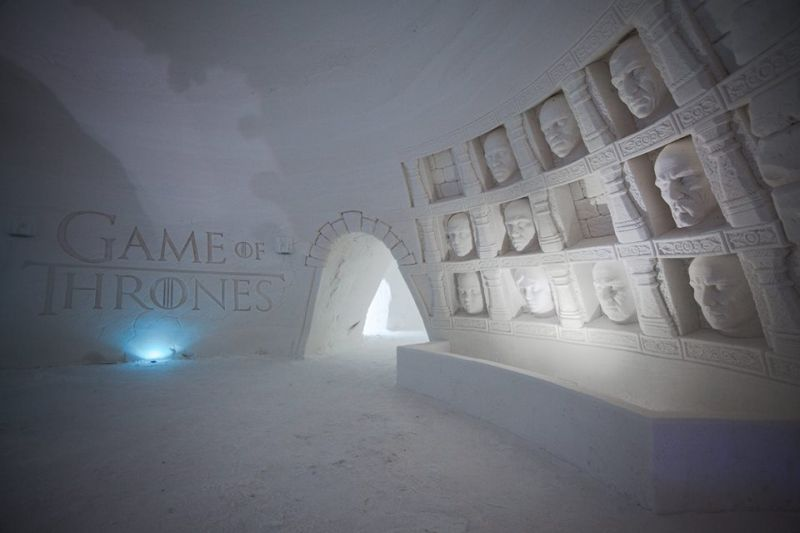 Take a look Inside the Stunning 'Games of Throne' Ice Hotel in Finland