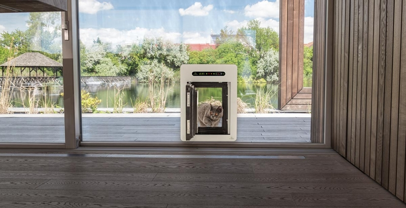petWALK a safe pet door