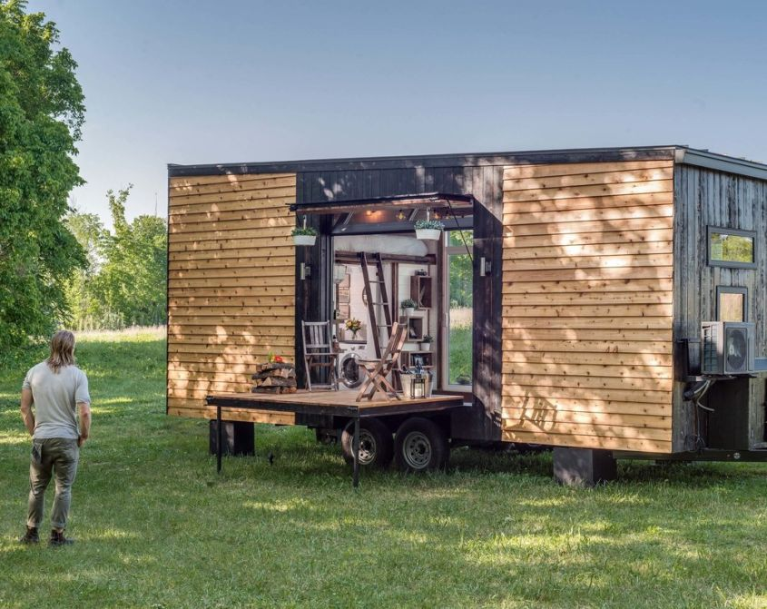 Alpha Tiny Home On Wheels