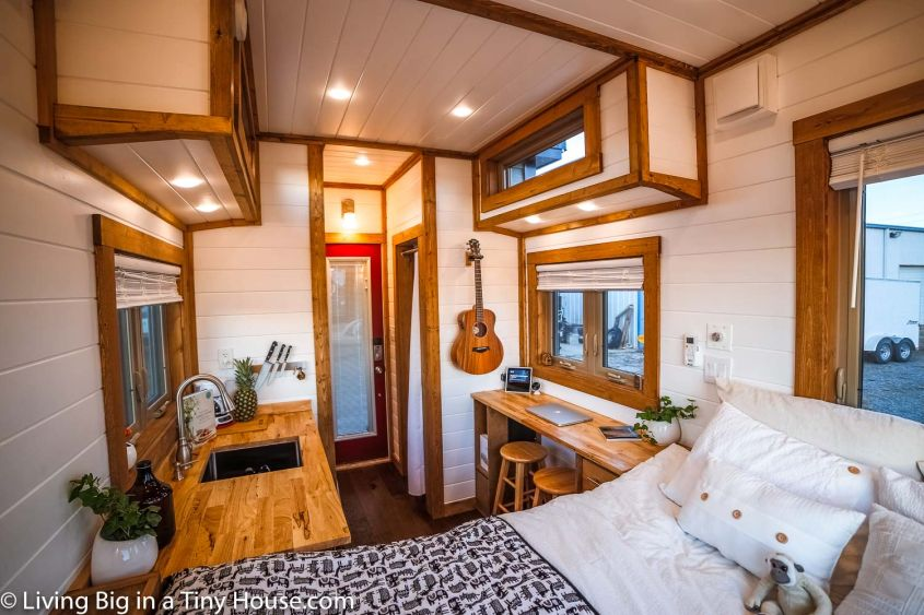 Amazing tiny home on wheels from Living Big in a Tiny House