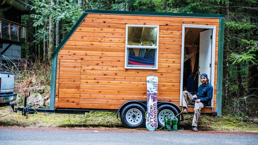Andy Bergin-Sperry's tiny house on wheels