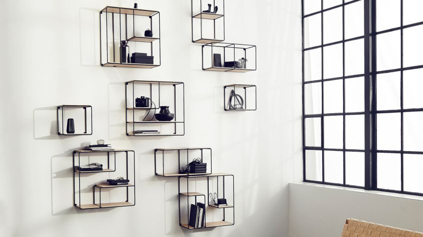 Anywhere modular shelving