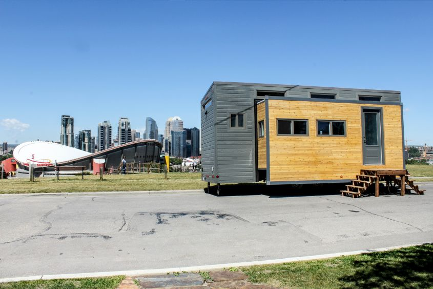 Aurora tiny house on wheels
