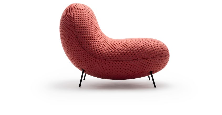 BaBa fabric chair from Stockholm Furniture & Light Fair 2018