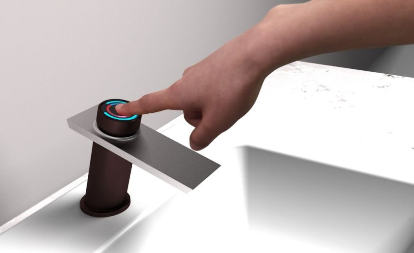 Bojian Han's Smart faucet delivers water instantly at preferred temperature