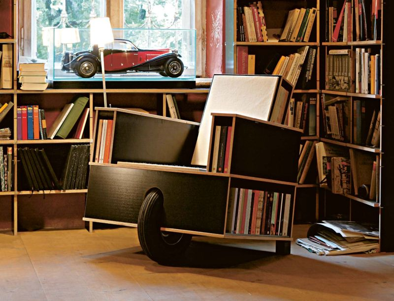 Bookshelf Chair Clever chair designs