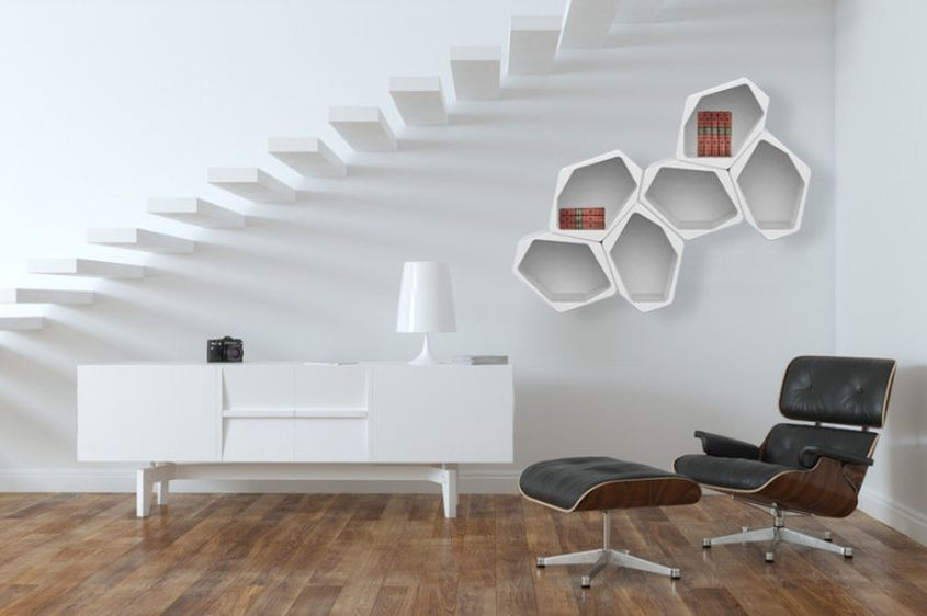Build modular shelf by Movisi