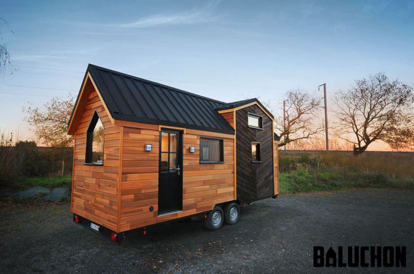 Calypso tiny house on wheels by Baluchon