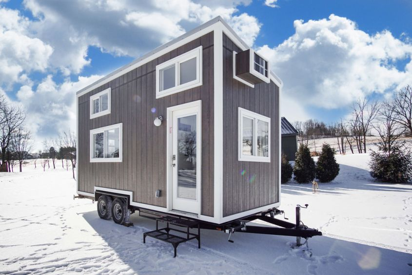 Cocoa tiny house on wheels