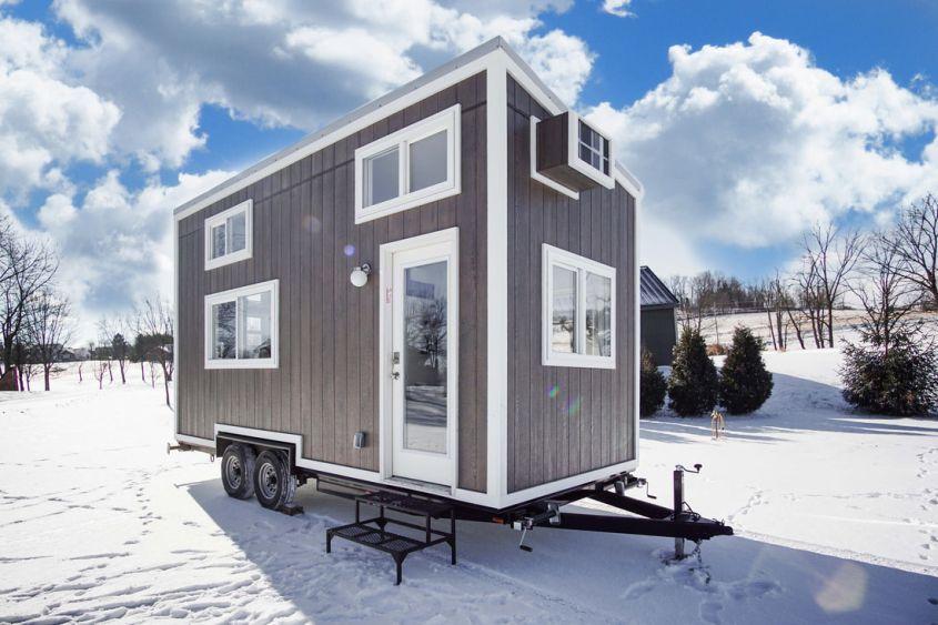 Cocoa tiny house on wheels