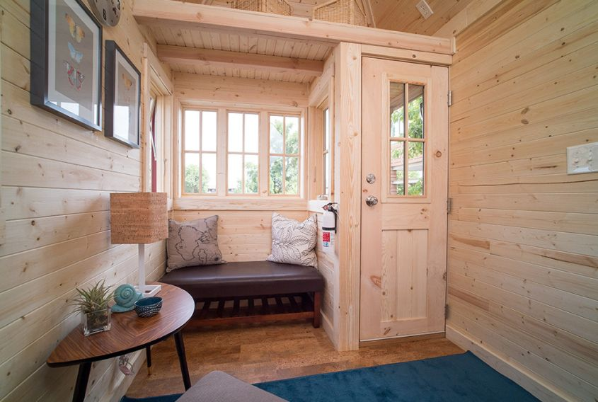 Cypress tiny house on wheels