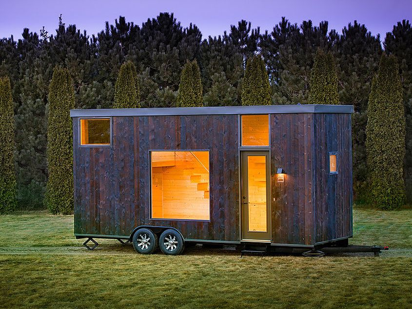 Escape One XL tiny house on wheels
