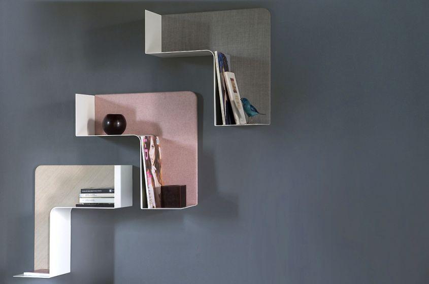 Fishbone modular shelf by Favaretto & Partners