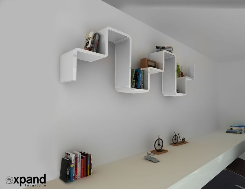 K2 modular shelving from Expand Furniture