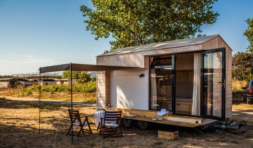Koleliba tiny house on wheels