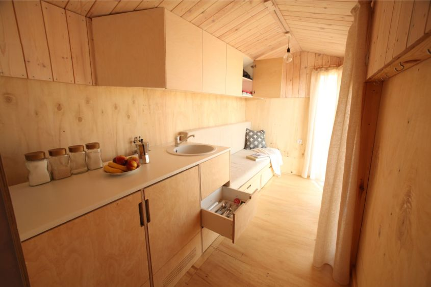 Koleliba tiny house on wheels